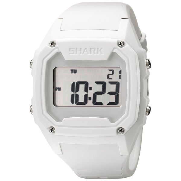 style men s shark white silicone digital watch style men s shark white silicone digital watch