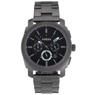 Fossil Men's FS4662 Machine Stainless Steel Watch|https://ak1.ostkcdn.com/images/products/7715453/P15120093.jpg?impolicy=medium