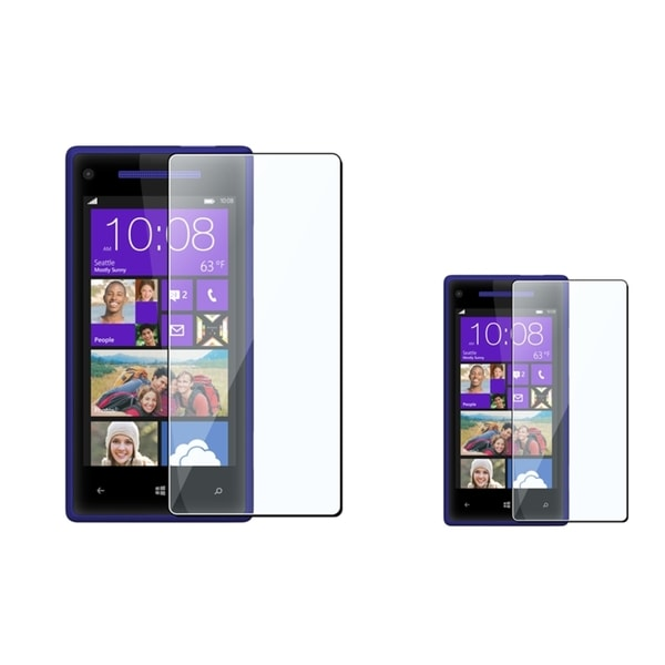 INSTEN Clear Screen Protector for HTC Windows Phone 8X (Pack of 2)