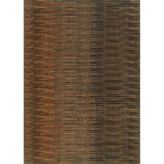 Brown/ Rust Area Rug (3'10 x 5'5)