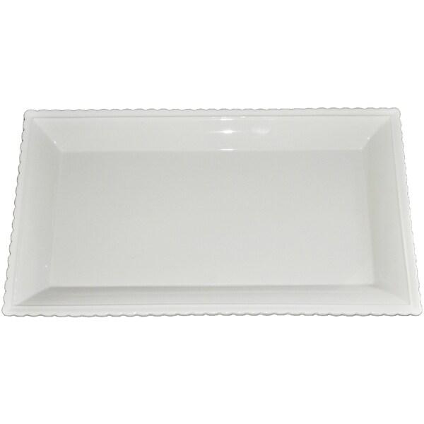 KitchenWorthy Ceramic Serving Platter (Pack of 8)