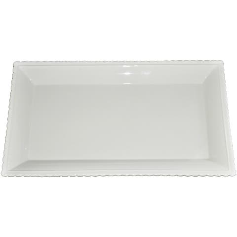KitchenWorthy Ceramic Serving Platter (Pack of 8)