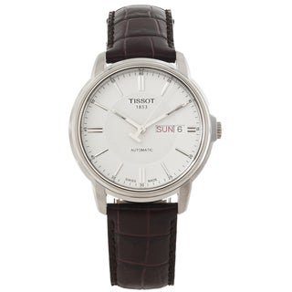 Tissot Men's Automatic III White Dial Stainless Steel Watch