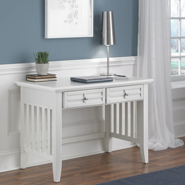 Arts And Crafts White Student Desk Free Shipping Today