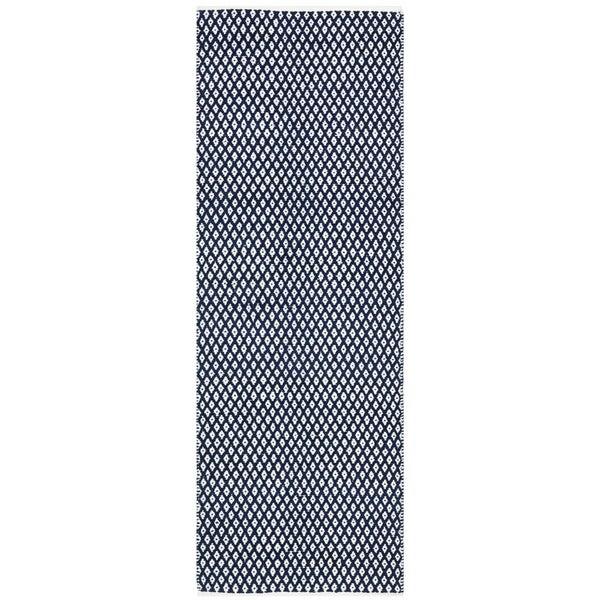 Safavieh Handmade Boston Flatweave Navy Blue Cotton Rug (2u0026#39;3 x 7u0026#39;) - Free Shipping Today ...