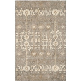 Safavieh Handmade Wyndham Natural New Zealand Wool Rug (5' x 8')