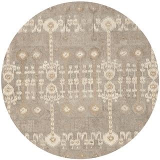Safavieh Handmade Wyndham Natural New Zealand Wool Rug 7