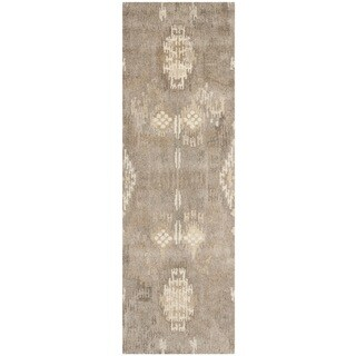 Safavieh Handmade Wyndham Natural New Zealand Wool Rug - 2'3 x 7'