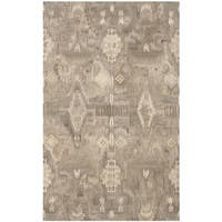 Safavieh Handmade Wyndham Natural New Zealand Wool Rug with Cotton Canvas Backing (4' x 6')