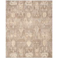 Safavieh Handmade Wyndham Natural New Zealand Wool Rug (8' x 10')