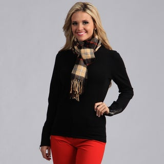 Link to Peach Couture Plaid Scarf Similar Items in Scarves & Wraps
