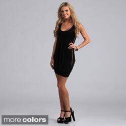 Miso Women's Asymmetrical Ruffle Zippered Dress|https://ak1.ostkcdn.com/images/products/7715793/Miso-Womens-Asymmetrical-Ruffle-Zippered-Dress-P15120372b.jpg?impolicy=medium