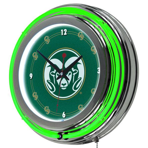 Colorado State University Neon Clock