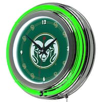 Colorado State University Neon Clock