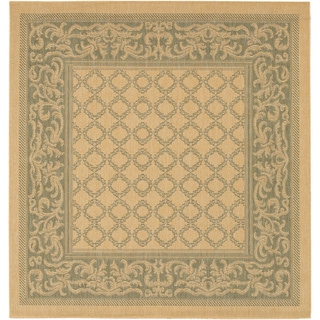 Recife Natural Garden Lattice Rug (8'6 x 13')