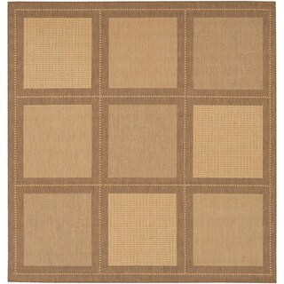 Recife Summit Natural and Cocoa Rug (7'6 Square)