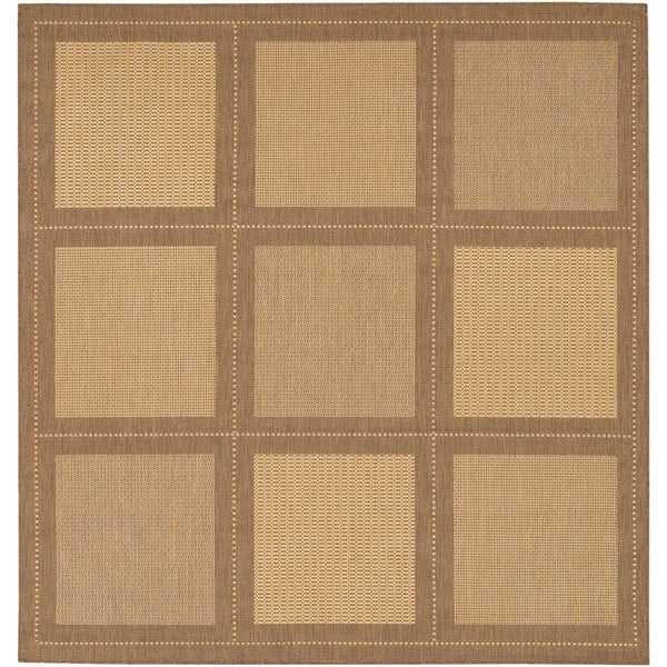 Recife Summit Natural and Cocoa Rug (8'6 Square)