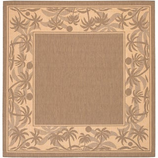 Recife Island Retreat Beige Natural Square Rug (7'6 x 7'6)