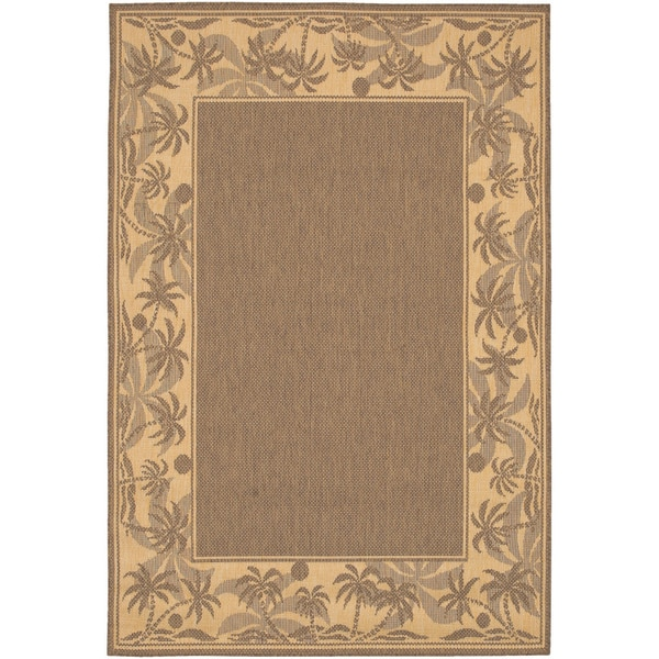 Recife Island Retreat Beige Natural Indoor/Outdoor Rug - 7'6 x 10'9
