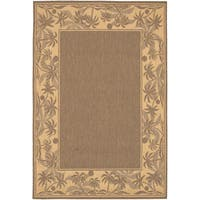 Recife Island Retreat Beige- Natural Indoor/Outdoor Rug - 8'6 x 13'