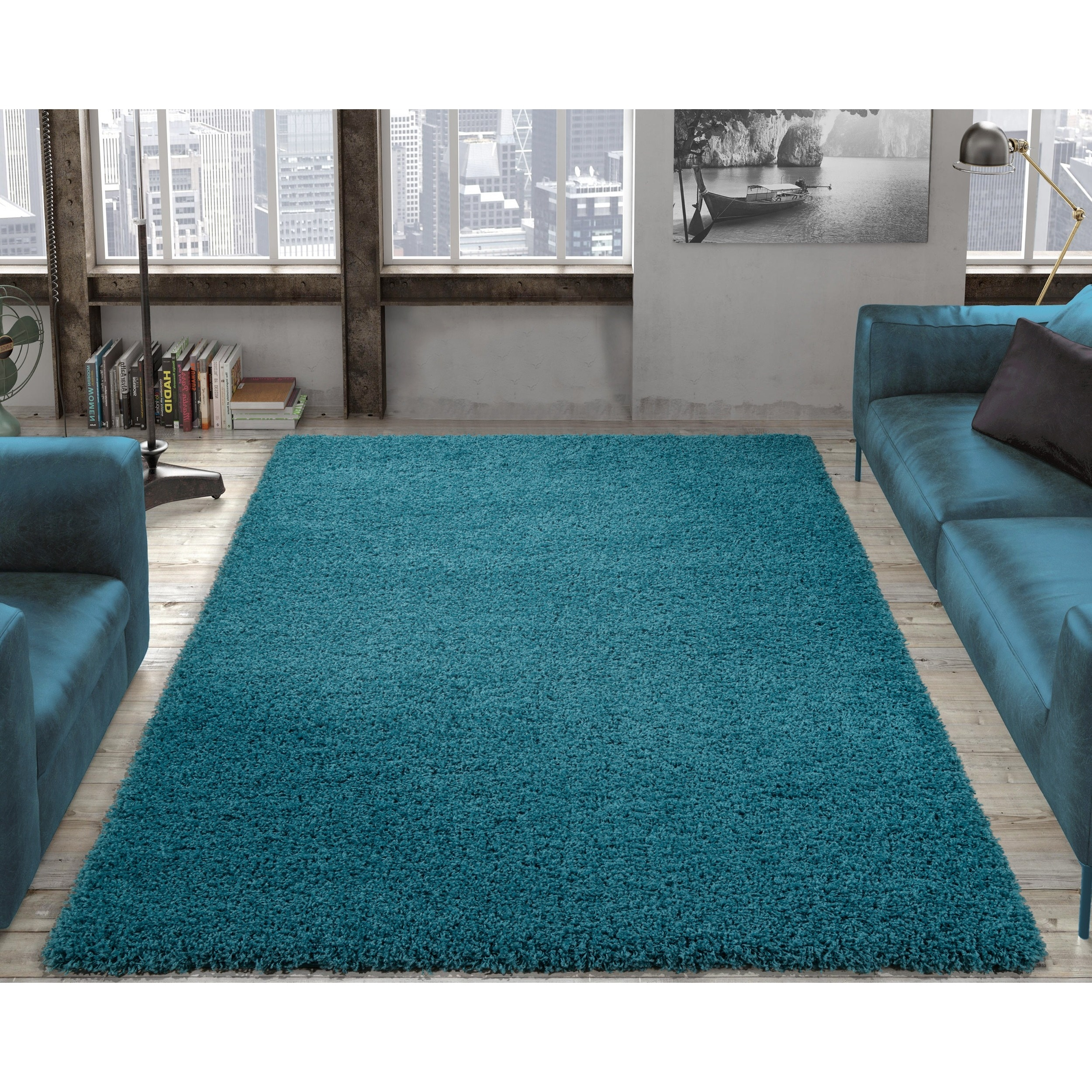 Blue, Solid Rugs & Area Rugs For Less | Find Great Home Decor Deals ...