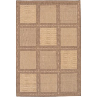Recife Summit/ Natural Cocoa Area Rug (3'9 x 5'5)