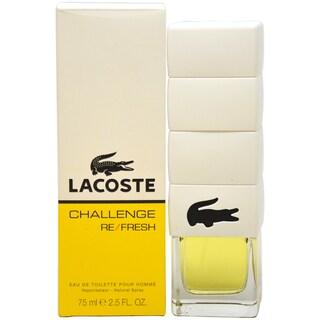 Lacoste Challenge Refresh Men's 2.5-ounce Eau de Toilette Spray