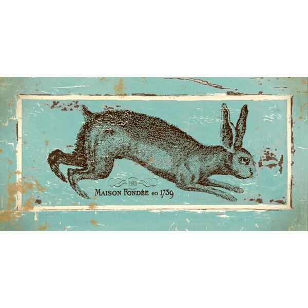 Jo Moulton 'French Hare II'  Paper Print (Unframed)
