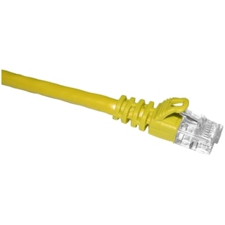 ClearLinks 07FT Cat. 6 550MHZ Yellow Molded Snagless Patch Cable