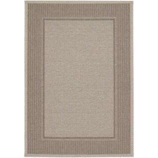 Tides Astoria/ Cocoa Beige Rug (6'7 x 9'6)