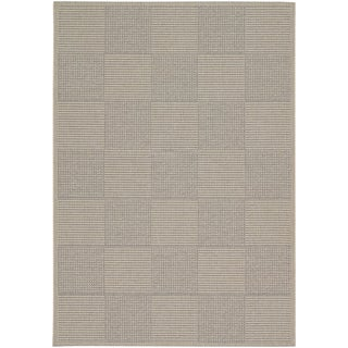 Tides Concord Sand/ Grey Rug (7'10 x 10'10)