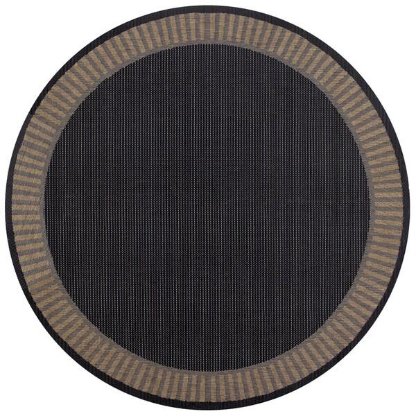 Cocoa Indoor Outdoor Round Rug