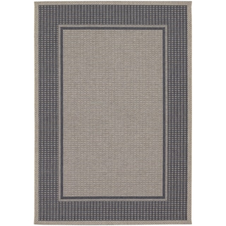 Tides Astoria Charcoal and Grey Rug (5'3 x 7'6)