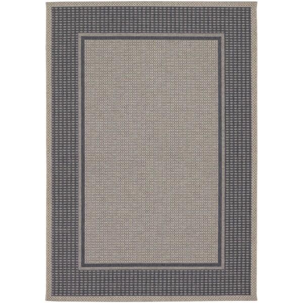 Tides Astoria Charcoal Grey Rug (7'10 x 10'10)