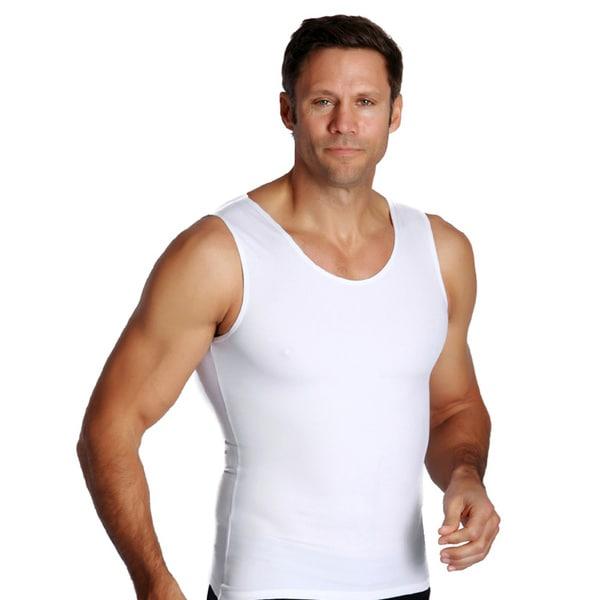 Insta Slim Men's Compression Tank Shirts (Pack of 3)