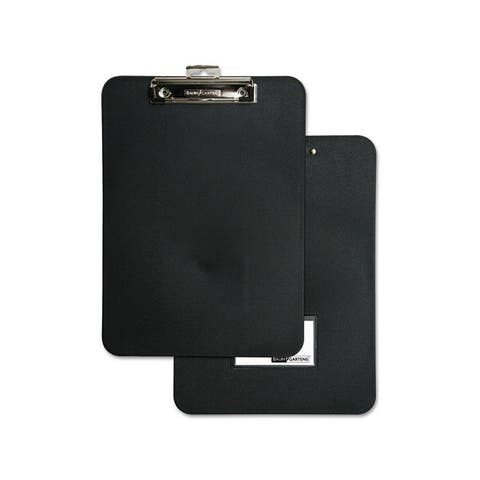 Unbreakable Recycled Black Clipboard