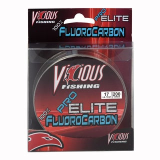 Vicious Pro Elite Fluorocarbon Fishing Line