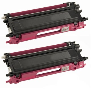 Brother Compatible TN115 High Yield Magenta Toner Cartridges (Pack of 2)