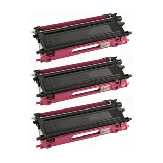 Brother Compatible TN115 High Yield Magenta Toner Cartridges (Pack of 3)
