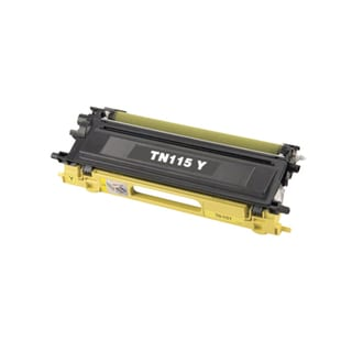 Brother Compatible TN115 High Yield Yellow Toner Cartridge