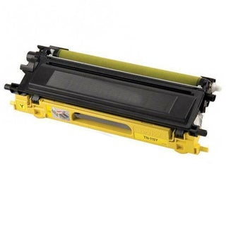 Brother Compatible TN210 High Yield Yellow Toner Cartridges (Pack of 10)