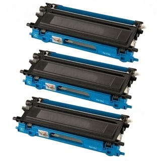 Brother Compatible TN210 High Yield Cyan Toner Cartridges (Pack of 3)