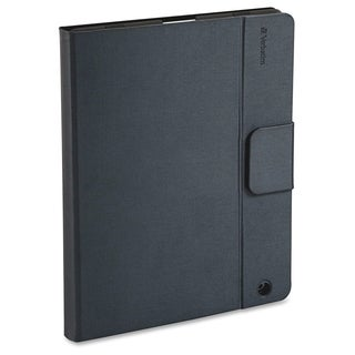 Verbatim Keyboard/Cover Case (Folio) for iPad - Gray