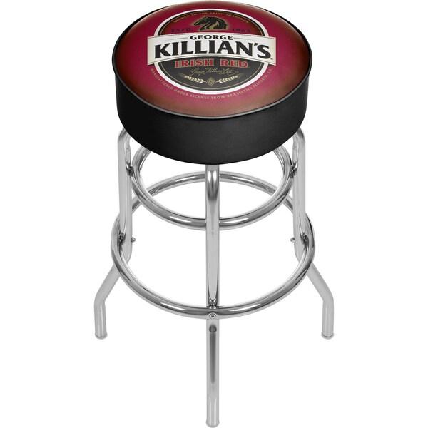 George Killians Irish Red Padded Bar Stool