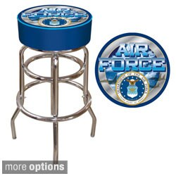 Officially Licensed United States Air Force Padded Bar Stool