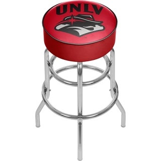 Officially Licesened Collegiate Logo's Padded Bar Stool