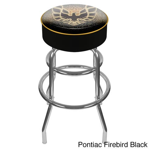Pontiac Padded Swivel Bar Stool