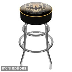 Pontiac Padded Swivel Bar Stool