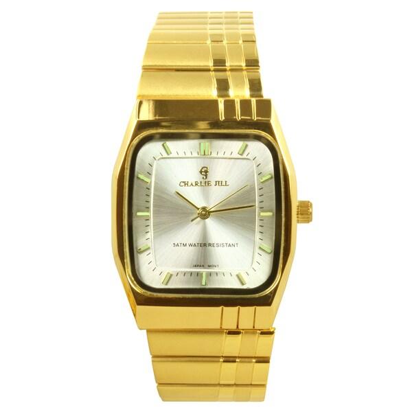 Charlie Jill Women's Goldtone Silver Dial Watch