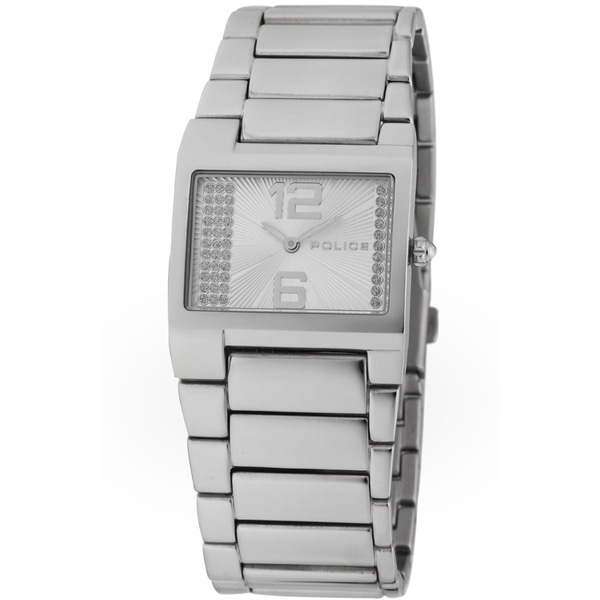 Police Women's Silver Dial Stainless Steel Watch